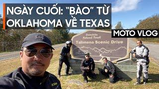 [USA-MotoVlog] Ngày cuối chạy từ Arkansas qua Oklahoma rồi về Houston, Texas