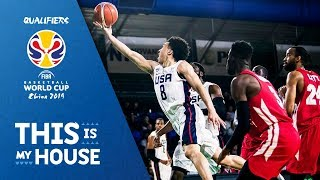United States v Panama - Full Game - FIBA Basketball World Cup 2019 - Americas Qualifiers