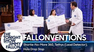 Fallonventions: Shortie-No-More 360, Tethys (Lead Detector), Hula Drop Stop