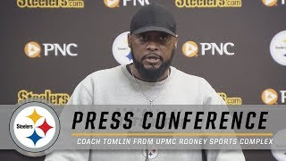 Tomlin Preparing for Another Big Test vs. Saints   Pittsburgh Steelers