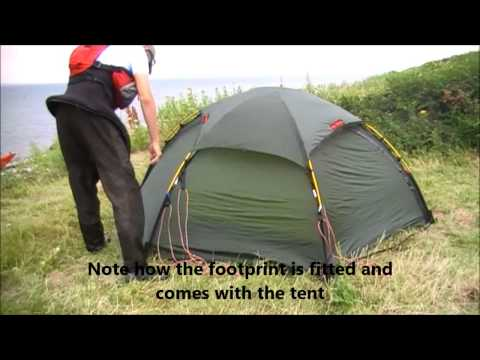 Hilleberg Allak - tent review & Hilleberg Staika - Pitching instruction Musica Movil ...