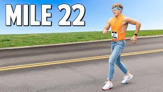 Running A Marathon In Skinny Jeans