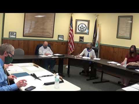 Champlain Village Board Meeting 5-10-21