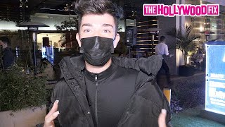 James Charles Reacts To The Snail Drama With The D'Amelio's & Has More Paparazzi Pick Out His Makeup