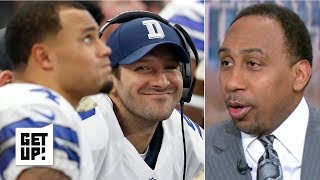 Stephen A. is serious about Tony Romo coaching the Dallas Cowboys   Get Up!