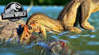 A Ilha dos Dinossauros: Criando Allossauro Super Modificado! Jurassic World Evolution