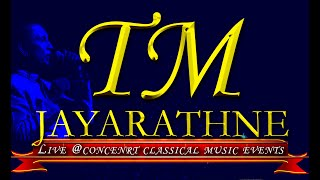 TM JAYARATHNA Live Classical Music Shows in London and Nottingham.2019