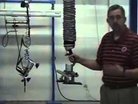 Movomech Vacuum Lifting - Easyhand T Box Lifting Operation Instructions