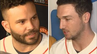 Astros stars sidestep questions about MLB report on cheating scandal