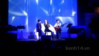 Hồ Ngọc Hà song ca Thiều Bảo Trang ca khúc