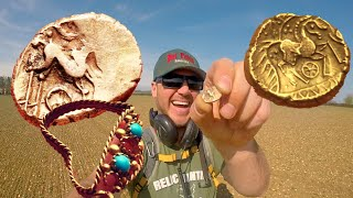 Metal Detecting Finds Lost Treasure 2000 Years Old. Best Metal Detecting Find of my Life!