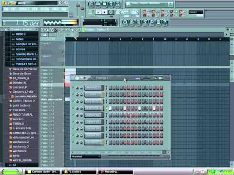 tutorial fl studio 9 base de cumbia (no respondo giladas)