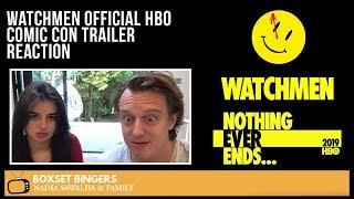 Watchmen OFFICIAL HBO COMIC CON Trailer - The Boxset Bingers REACTION