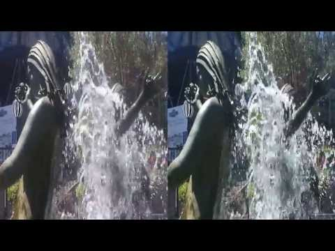 Fountain in Ghiridelli Square 3D (YT3D:Enable=True)