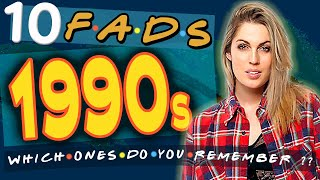 10 Fads from the 1990's - Which Ones Do You Remember?