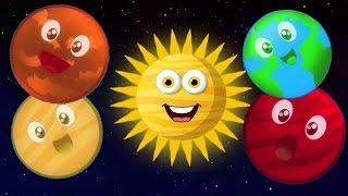 Hành tinh Bài hát   hệ mặt trời Bài hát   Bài hát giáo dục   Kids Song   Planets Song For Kids