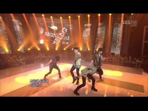 [SBS] 인기가요 MBLAQ : MONALISA (inkigayo 110724)