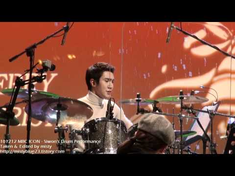 101212 Siwon Drum Performance