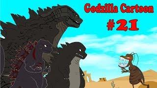 Godzilla vs Shin Godzilla: Giant Cockroach Monster #21 | 30 Min Compilation Godzilla Cartoons