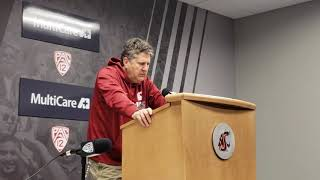 Mike Leach press conference 10/1/18 pt. 2