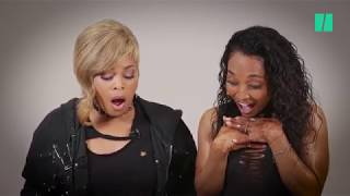 TLC Finds Condoms In A Mystery Box And The Duo's Reaction Is Priceless
