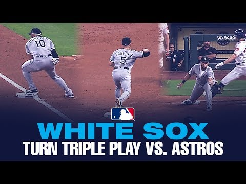 TRIPLE PLAY! White Sox turn THREE vs. Astros