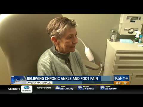 New solution to relieving foot and ankle pain - Medical Minute