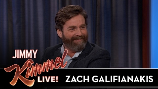 Zach Galifianakis on Giving His Kids Hollywood Names