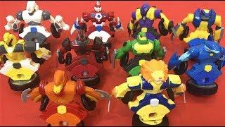 ĐẠI CHIẾN VÕ THẦN GIÁP SĨ ❤️ SƯ TỬ BÁ VƯƠNG ĐẤU 9 VÕ THẦN GIÁP SĨ❤️Review Spin Fighters Toys