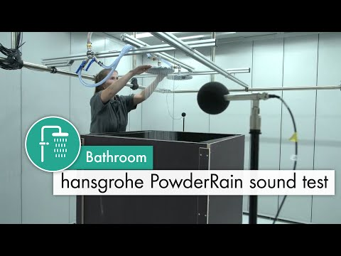 Hansgrohe Raindance S 240 1Jet P Overhead Shower with 100mm Ceiling Shower Arm - PowderRain