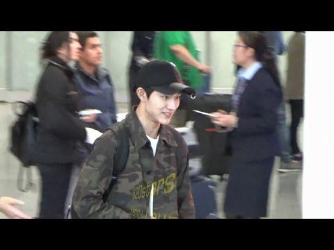 郭東延Kwak Dong Yeon(곽동연) Arrived Hong Kong Airport 20161109