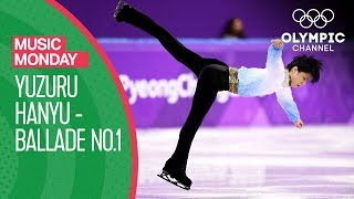 Yuzuru Hanyu performs to Chopin's Ballade No 1 at PyeongChang 2018 | Music Monday