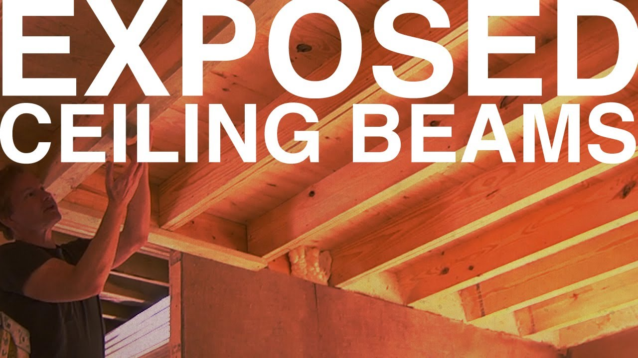 Exposed Ceiling Beams Day 98 The Garden Home Challenge