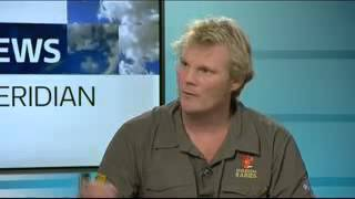 Mission Rabies' Luke Gamble interviewed on ITV Meridian, 4th Oct 2013