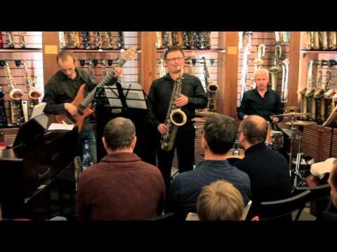 Квартет Олега Агеева: концерт-встреча в салоне саксофонов