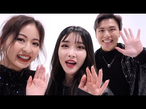 We danced with CHUNG HA! Behind the Scenes | Ellen and Brian