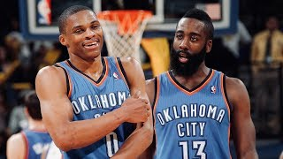 Russell Westbrook And James Harden Best Plays From Early OKC Days | B/R Countdown