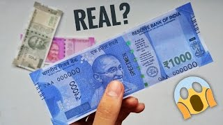 Image result for Government planning to re-introduce Rs 1,000 note. Is this the new look?