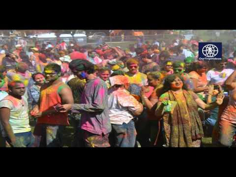 Pictures of Festival of Colors(Holi) at Cardoza Park by FIA(FOG), Milpitas, CA, USA