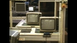 How to build a Television | Television assembly plant | Sanyo Televisions | Afternoon plus | 1984