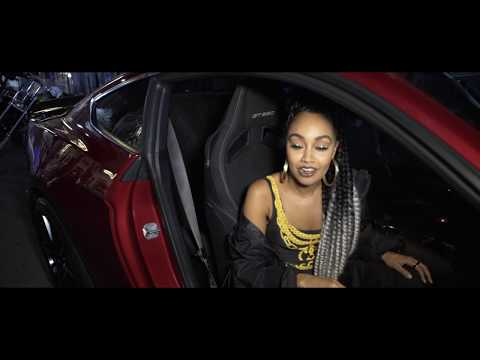 Little Mix behind-the-scenes with the Ford Mustang
