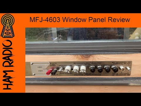 MFJ-4603 Window Panel Review