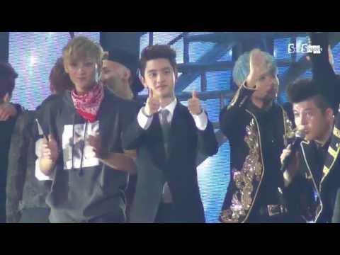 [SooSweet]130628 中韩友谊歌会 Ending Kyungsoo Focus