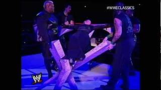 Undertaker and Stephanie Dark Wedding