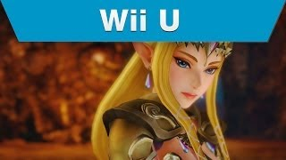 Wii U -- Hyrule Warriors Trailer with Zelda and a Rapier