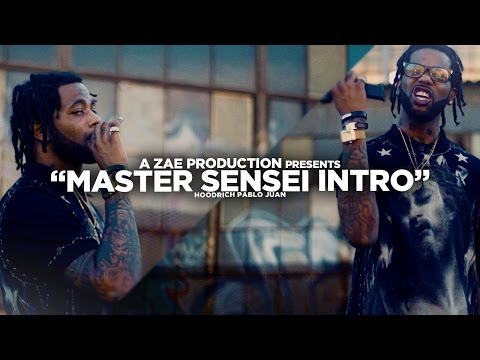Hoodrich Pablo Juan - Master Sensei Intro (Official Video) @AZaeProduction x @JerryPHD