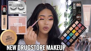 TESTING NEW DRUGSTORE 2019 MAKEUP: FULL FACE FIRST IMPRESSIONS |Taisha