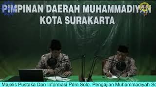 Pengajian Virtual Muhammadiyah Solo