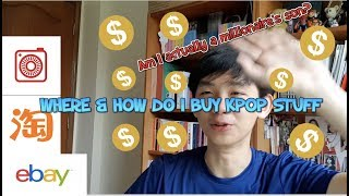 Where and How do I buy my KPOP/TWICE Merchandise and Albums?!