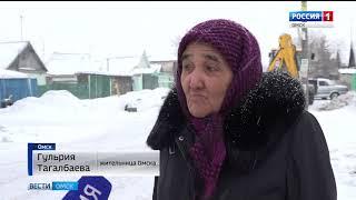 Весна в Омске началась с уборки снега